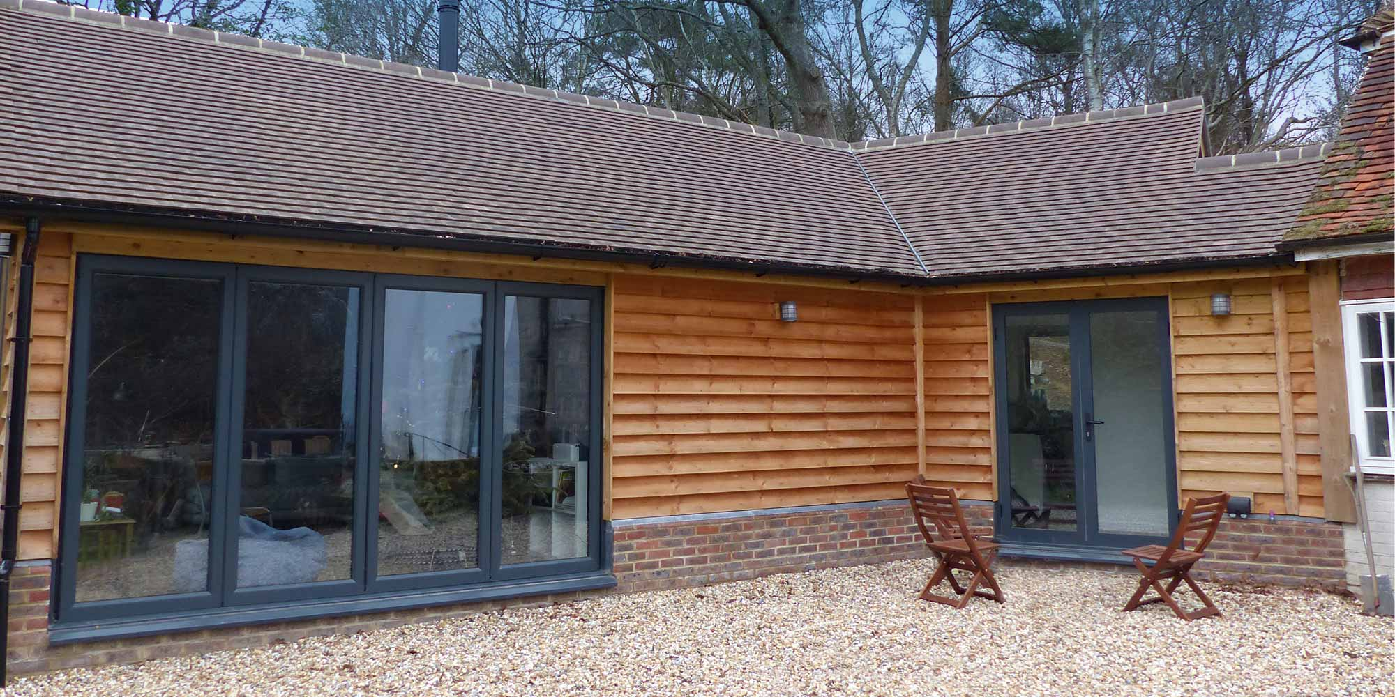 East Sussex home  extension built by M Hibbert Construction