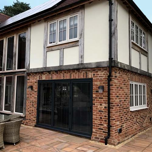 Front of Sussex new build project