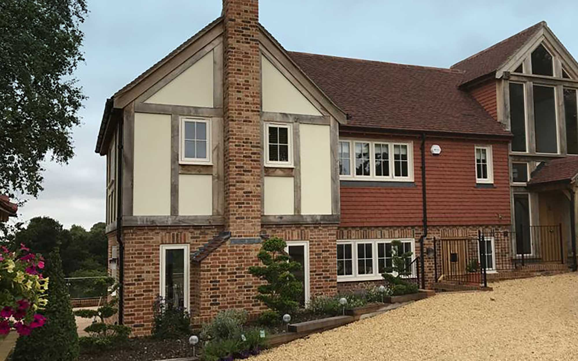 Front of Sussex new build home project